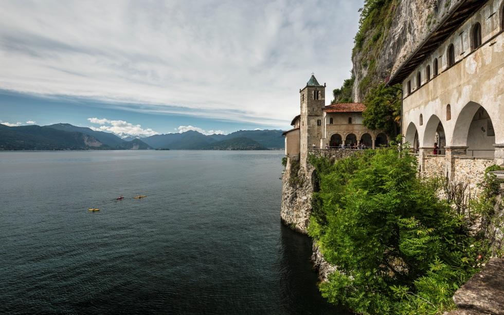 Eremo di Santa Caterina del Sasso, Italie