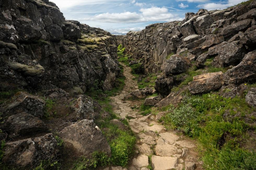 Islande - þingvellir