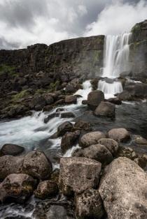 Islande - Öxarárfoss